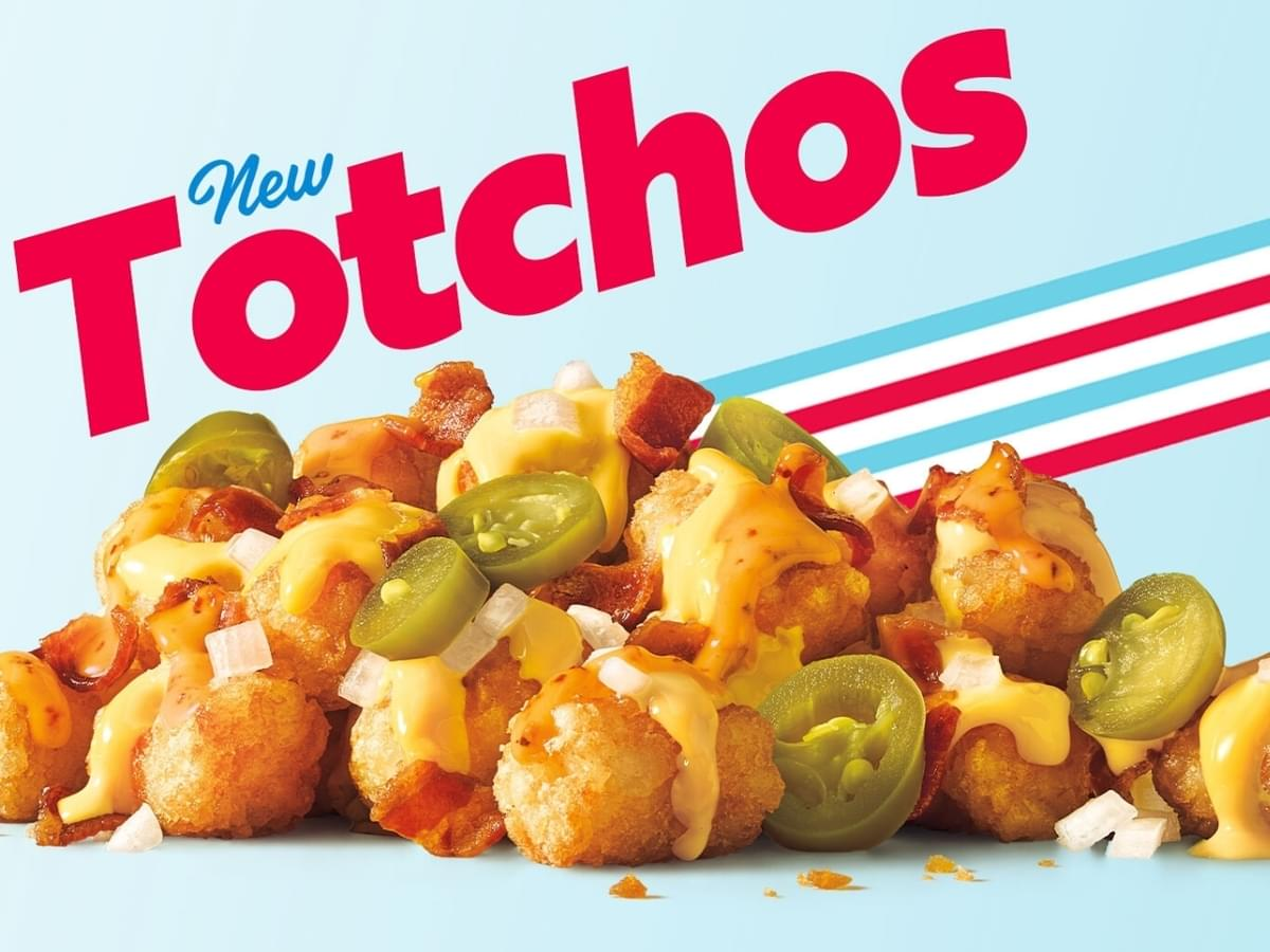 Sonic Totchos available for a limited time