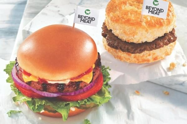Get a Free Beyond Meat Item at Hardee's or Carl's Jr