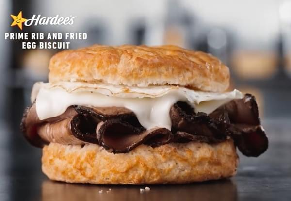 Hardees Testing New Prime Rib Breakfast Sandwich