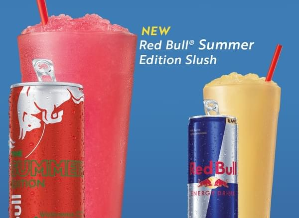 Red Bull Slushes are Back at Sonic